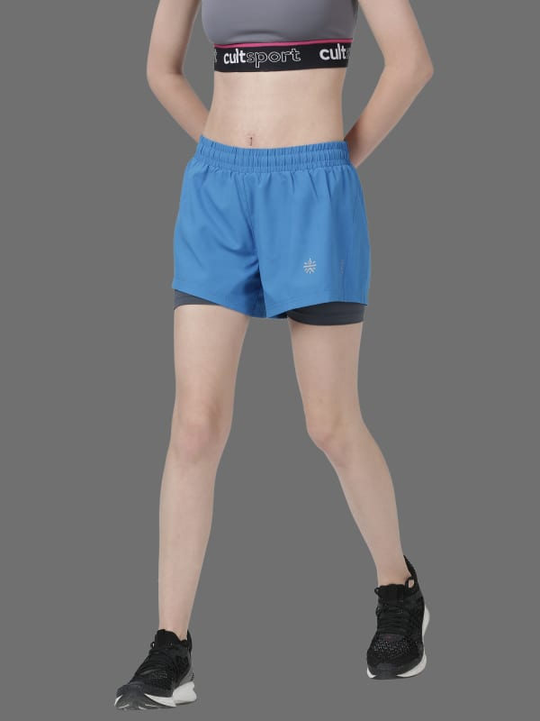 Vital Finish Blue Gym Shorts