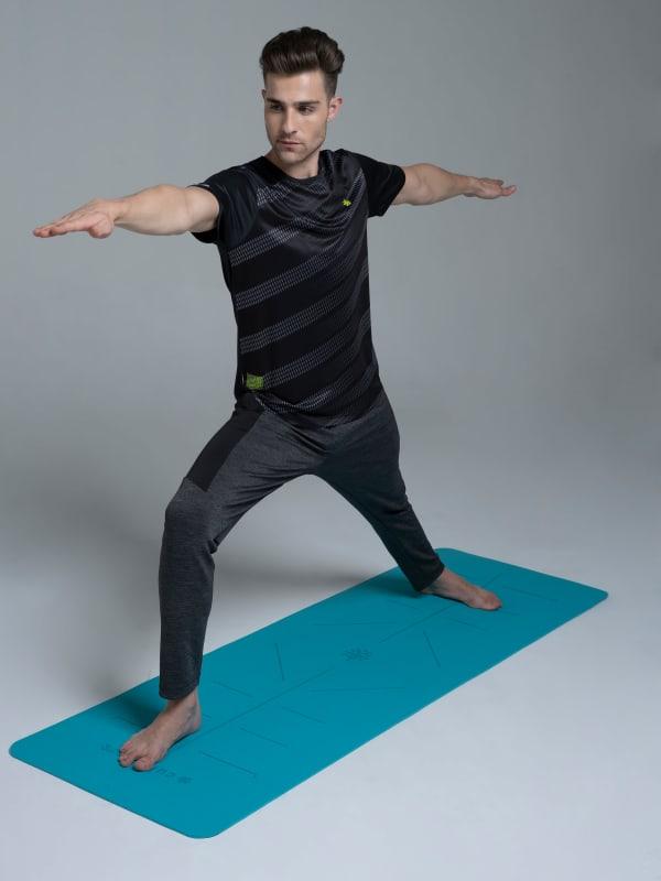 Tranquil Teal Yoga Mat