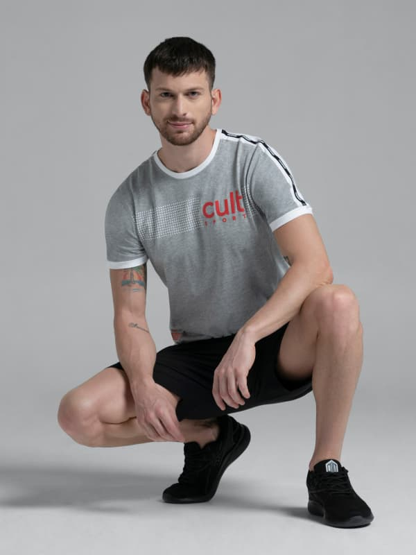Men's Athleisure T-s...
