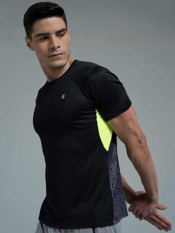 FlashRun Neon Pop Men's Running Tshirt