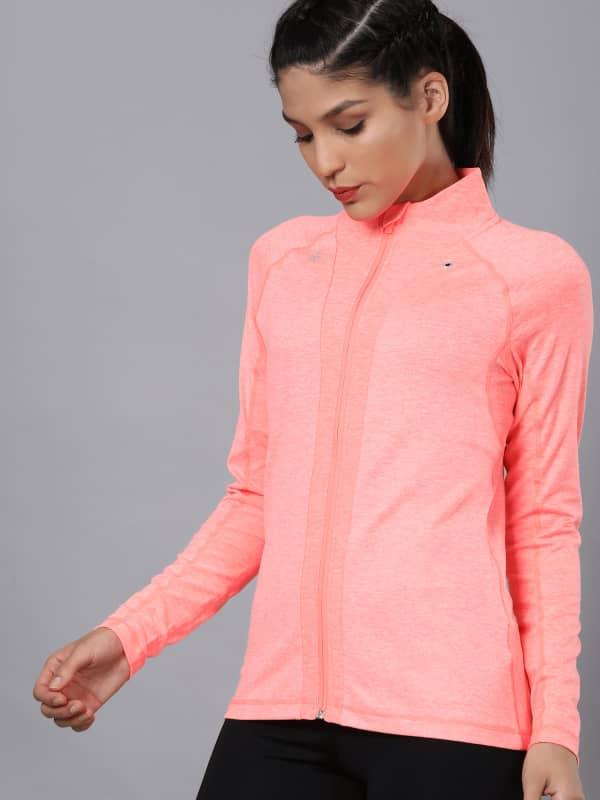 Vital Propel Pink Zip Through Sweatshirt