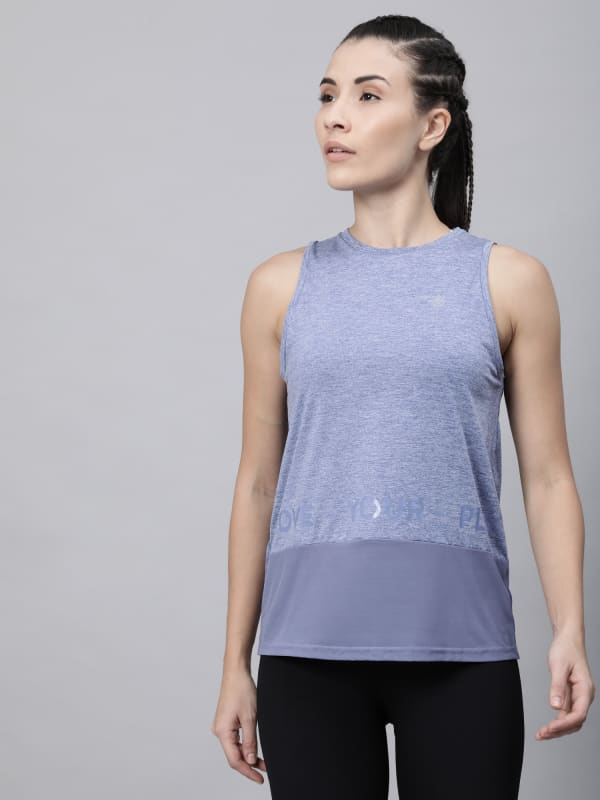 Knockout Mesh Panel Tank Top