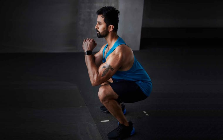 Strength Training: Chest, Triceps and Abs with Dumbbells