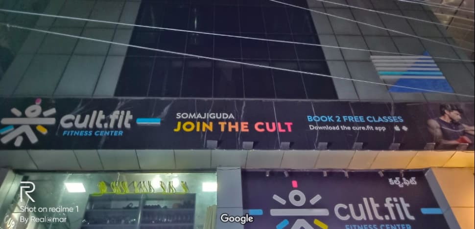 cult.fit Gym in Somajiguda  Workout Center