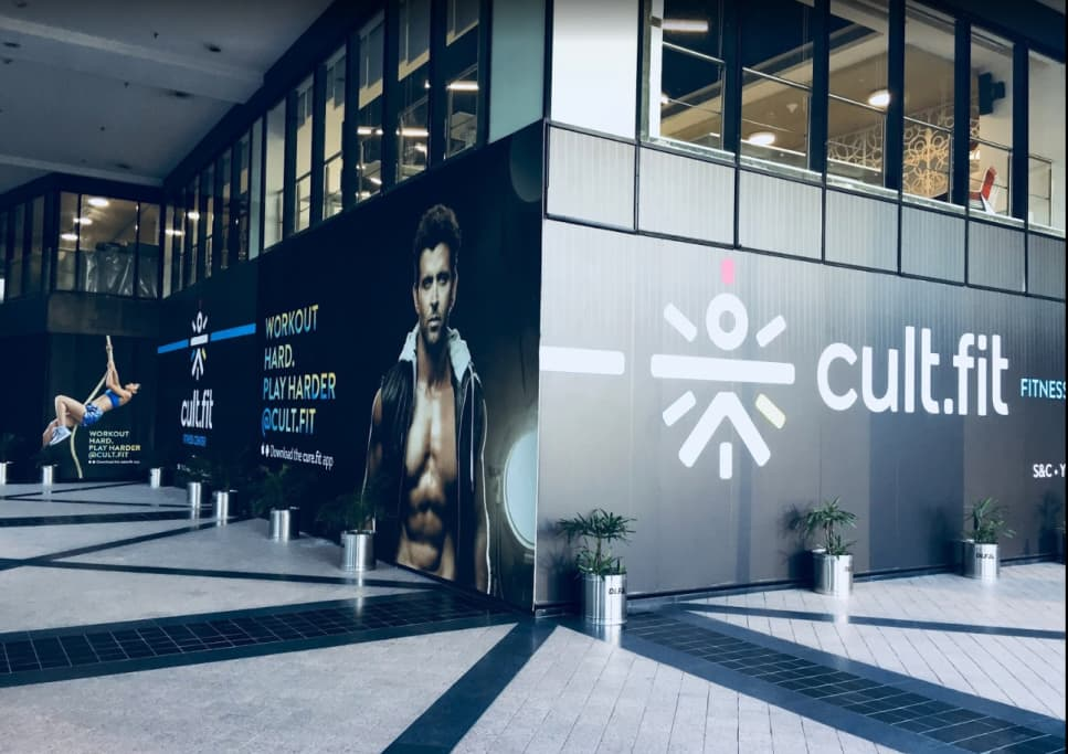 cult.fit Gym in Whitefield Workout Center