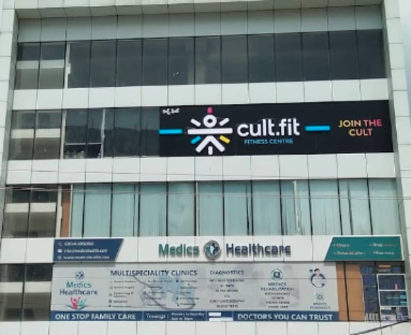 cult.fit Gym in Financial District  Workout Center