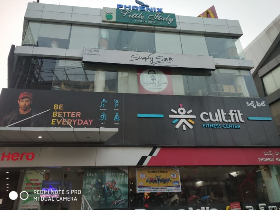 cult.fit Gym in Hitec City Workout Center