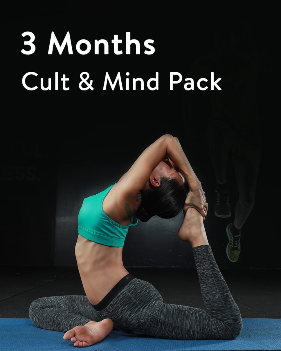 cult.fit Gym WorkOut 3 Month Unlimited Pack