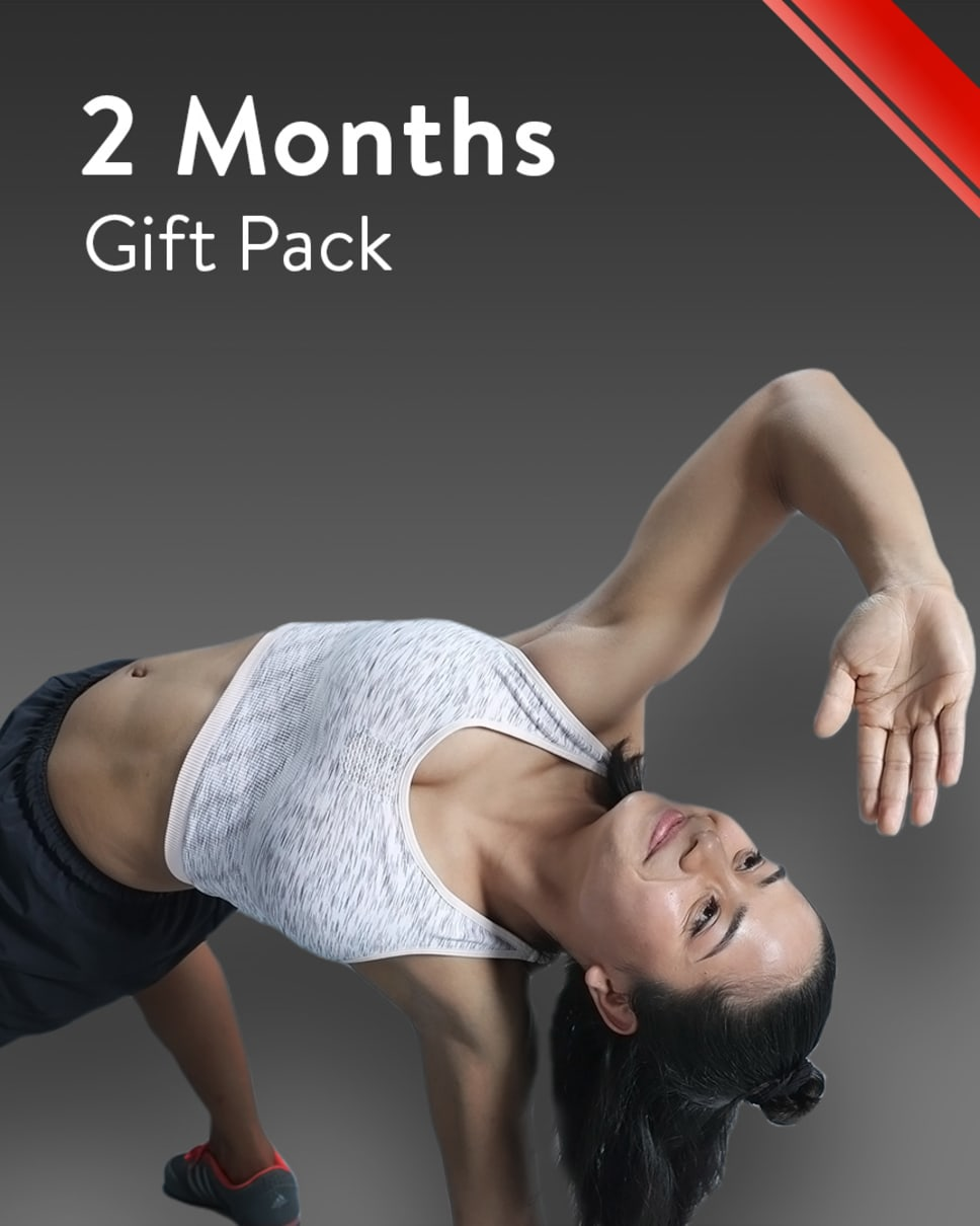 cult.fit Gym WorkOut 2 Months Gift Pack Pack