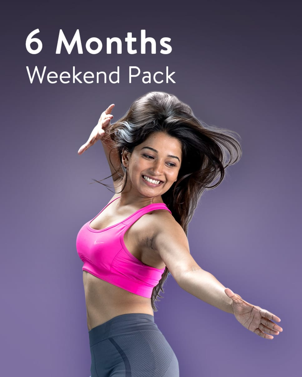 cult.fit Gym WorkOut 6 Months Weekend Unlimited Pack