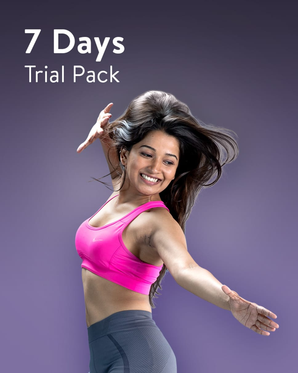 cult.fit Gym WorkOut 7 Days Unlimited - Trial Pack (Not For Sale) Pack