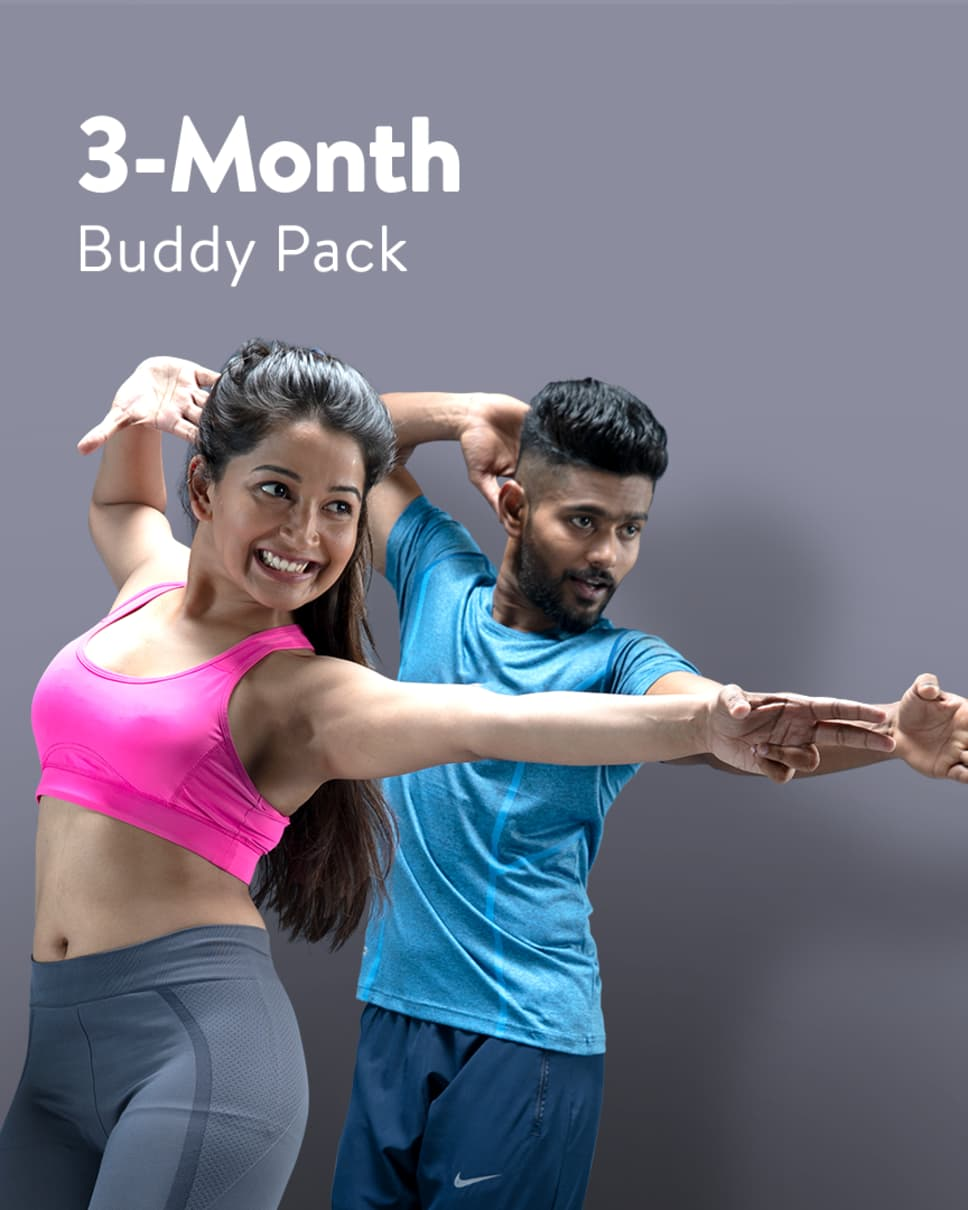 cult.fit Gym WorkOut 3 Month Buddy Pack Pack