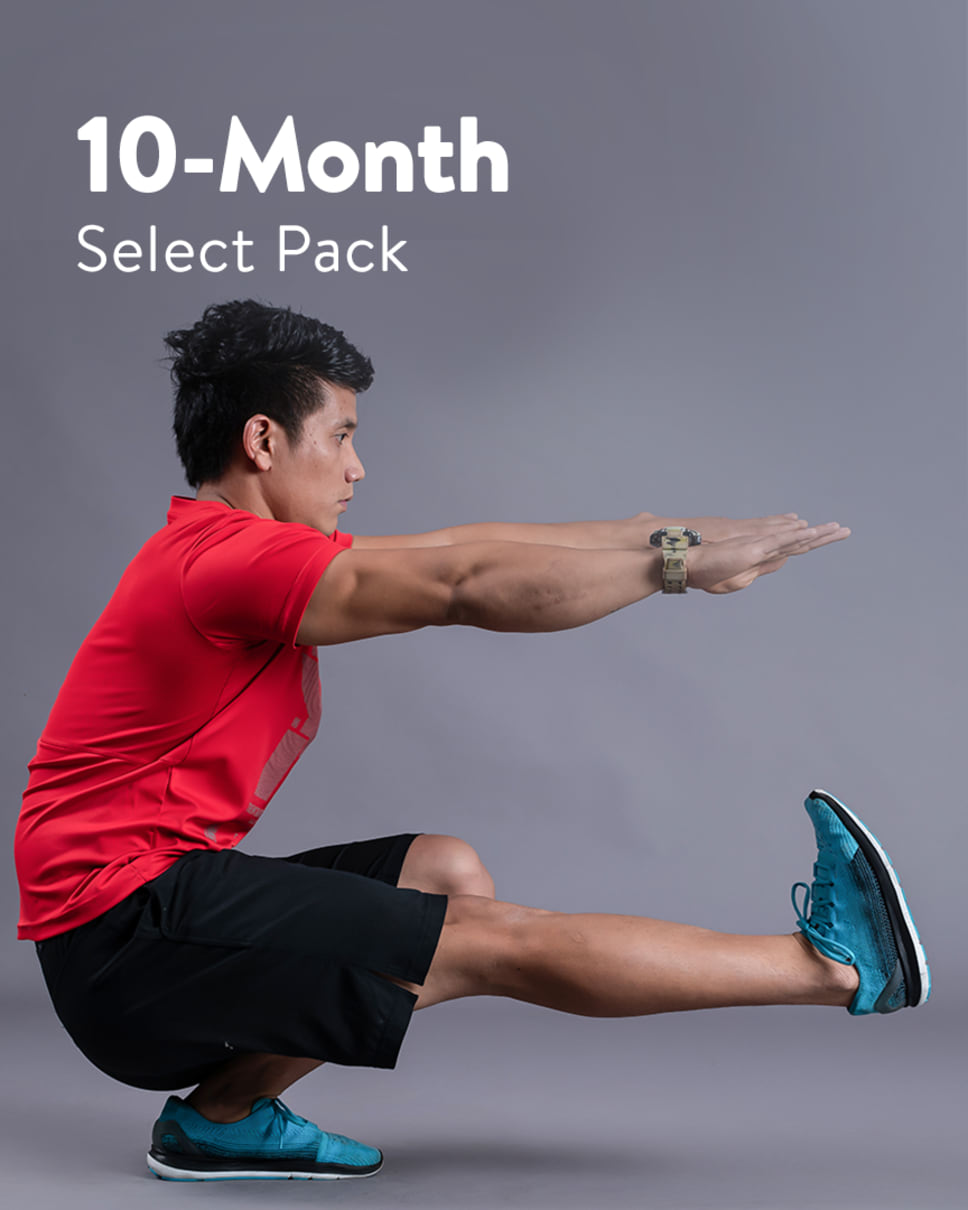 cult.fit Gym WorkOut 10 Month Select Pack Pack