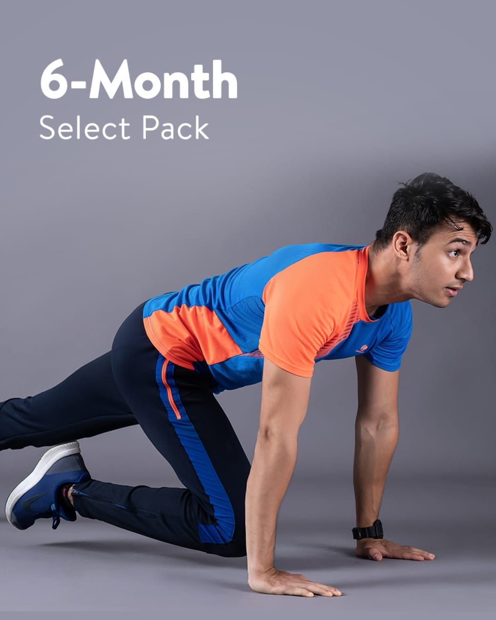 cult.fit Gym WorkOut 6 Month Select Pack Pack