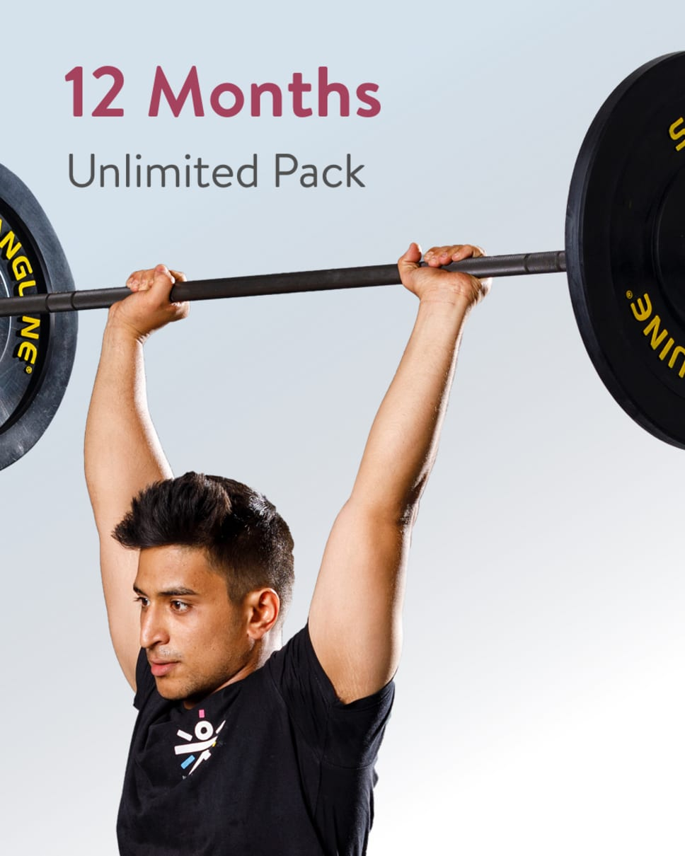 cult.fit Gym WorkOut 12 Month Unlimited Pack