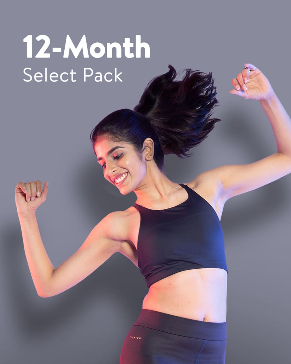 cult.fit Gym WorkOut 12 Month Select Pack Pack