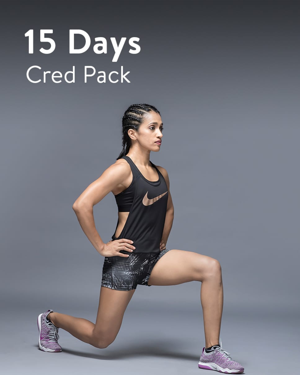 cult.fit Gym WorkOut 15 Days Unlimited - Cred Pack
