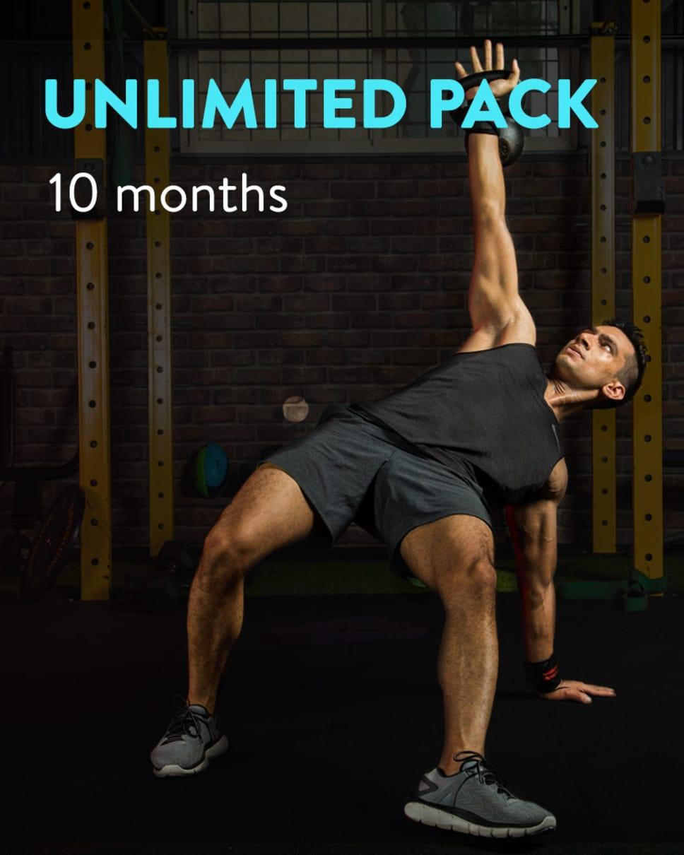 cult.fit Gym WorkOut 10 Month Unlimited Pack