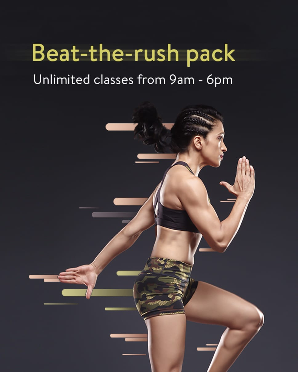 cult.fit Gym WorkOut Beat-the-Rush Pack