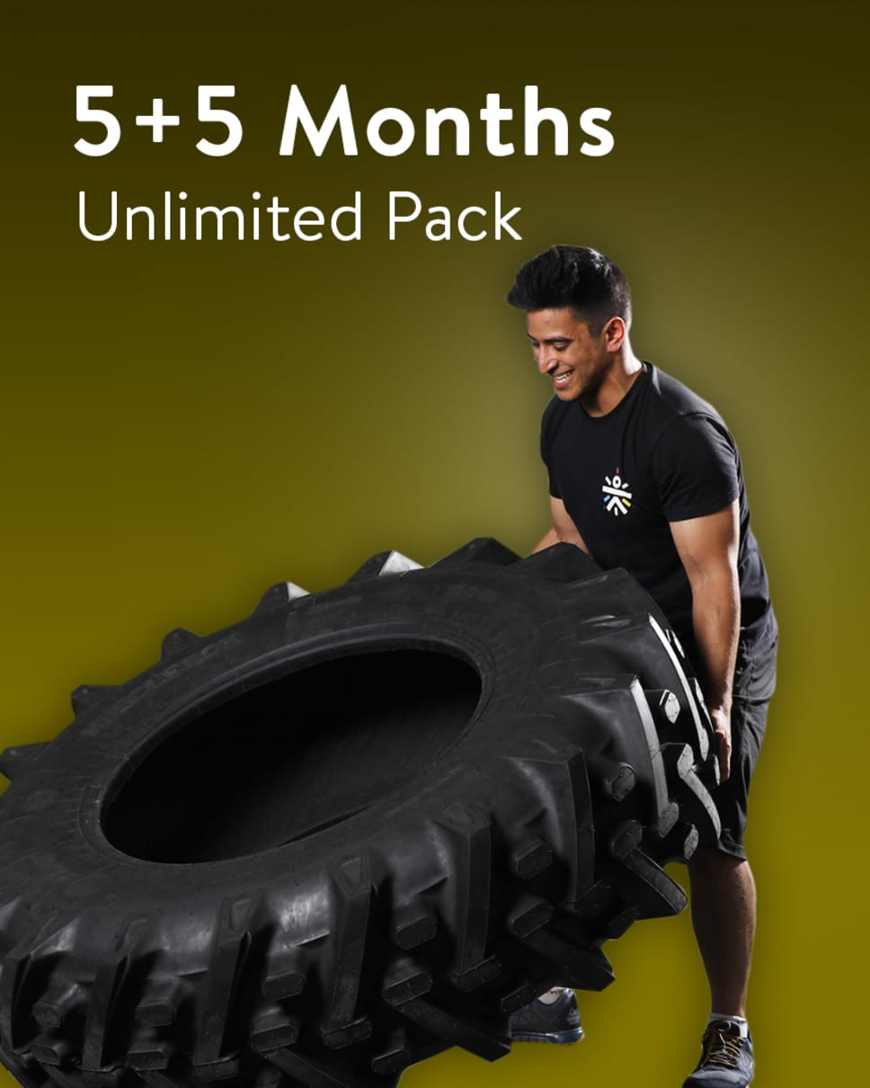 cult.fit Gym WorkOut 5+5 Month Unlimited Pack