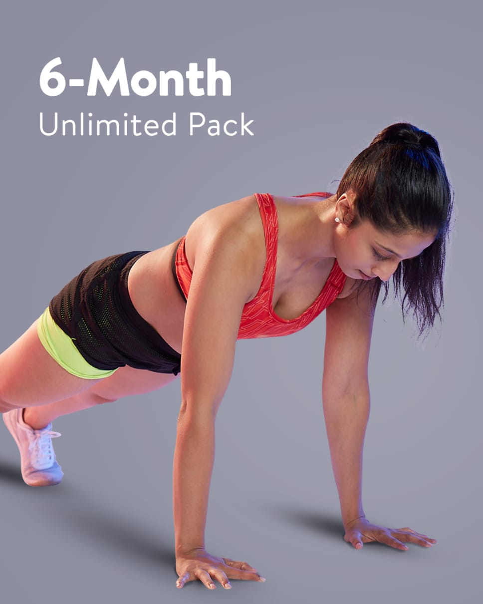 cult.fit Gym WorkOut 6 Month Unlimited Pack