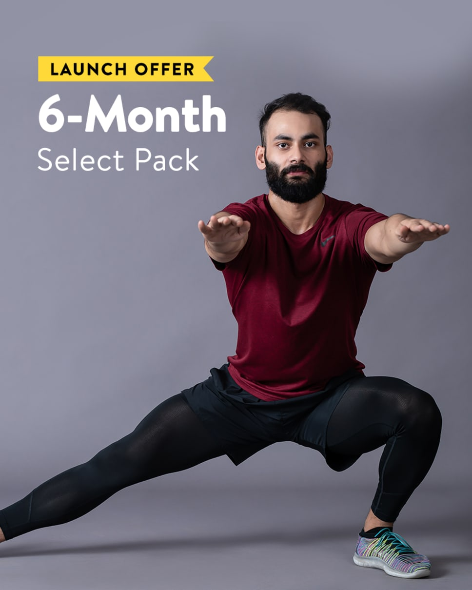 cult.fit Gym WorkOut 6 Month Select - Launch Offer Pack