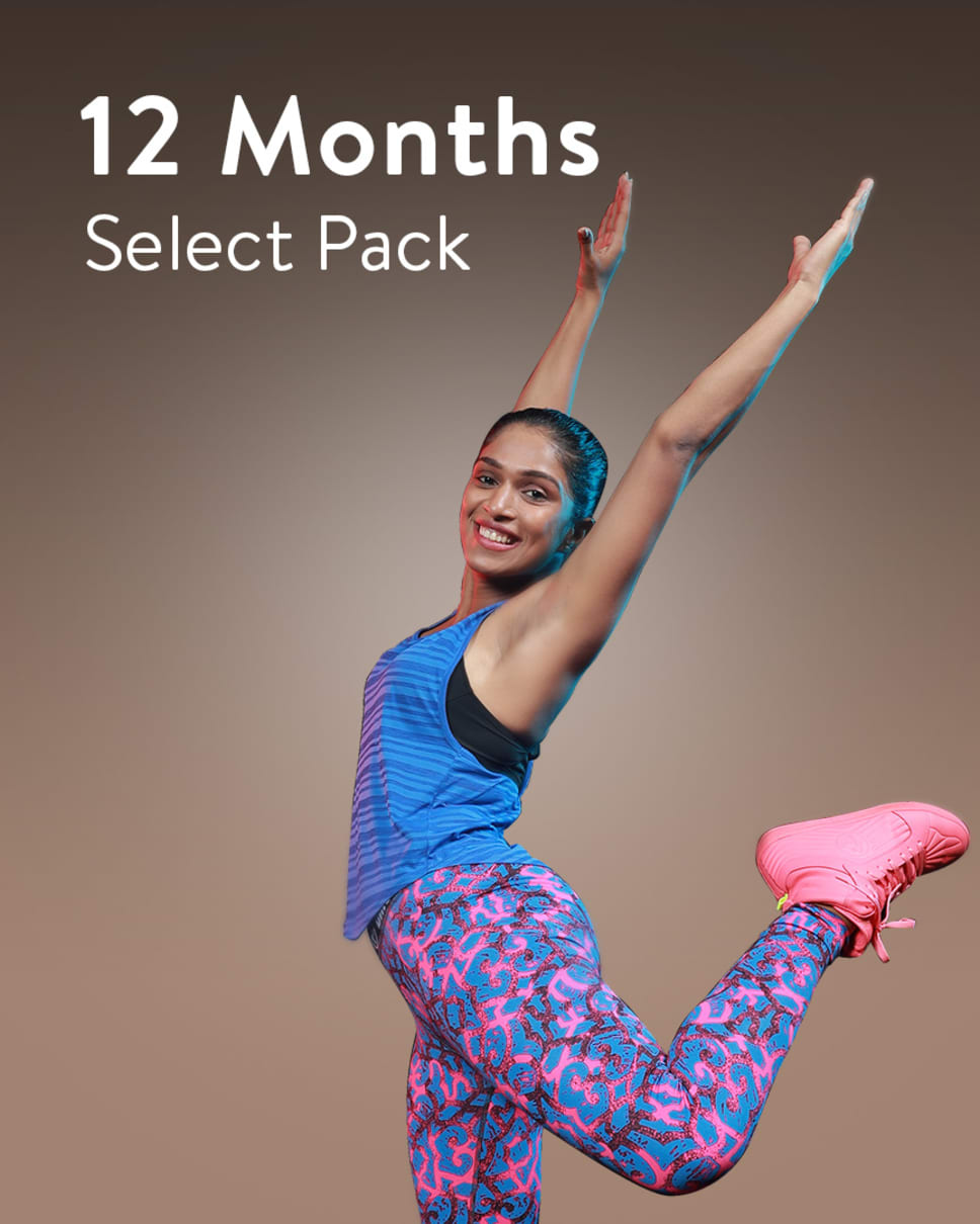 cult.fit Gym WorkOut 12 Month Select Pack - Apple Centers Only Pack