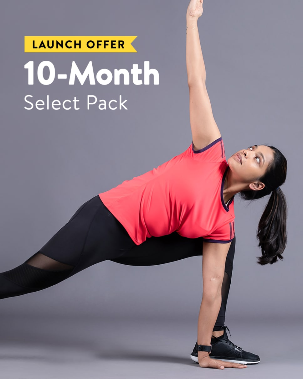 cult.fit Gym WorkOut 10 Month Select - Launch Offer Pack