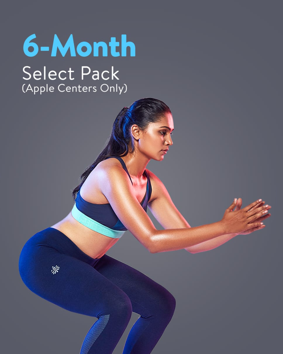 cult.fit Gym WorkOut 6 Month Select Pack - Apple Centers Only Pack