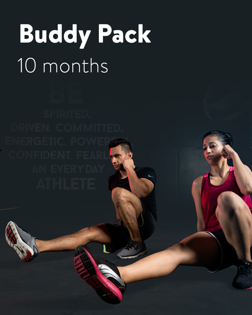 cult.fit Gym WorkOut 10 Month Buddy Pack Pack