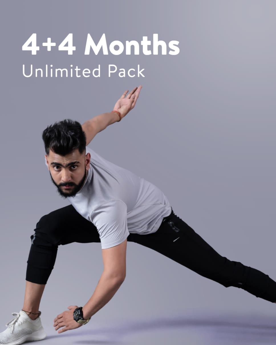cult.fit Gym WorkOut 4+4 Month Unlimited Pack