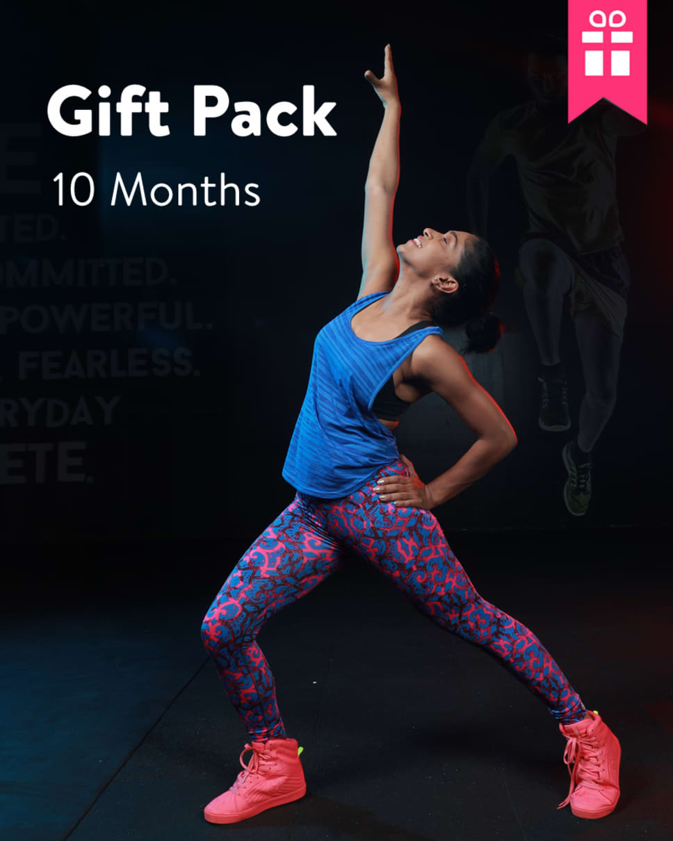 cult.fit Gym WorkOut 10 month Gift Pack Pack