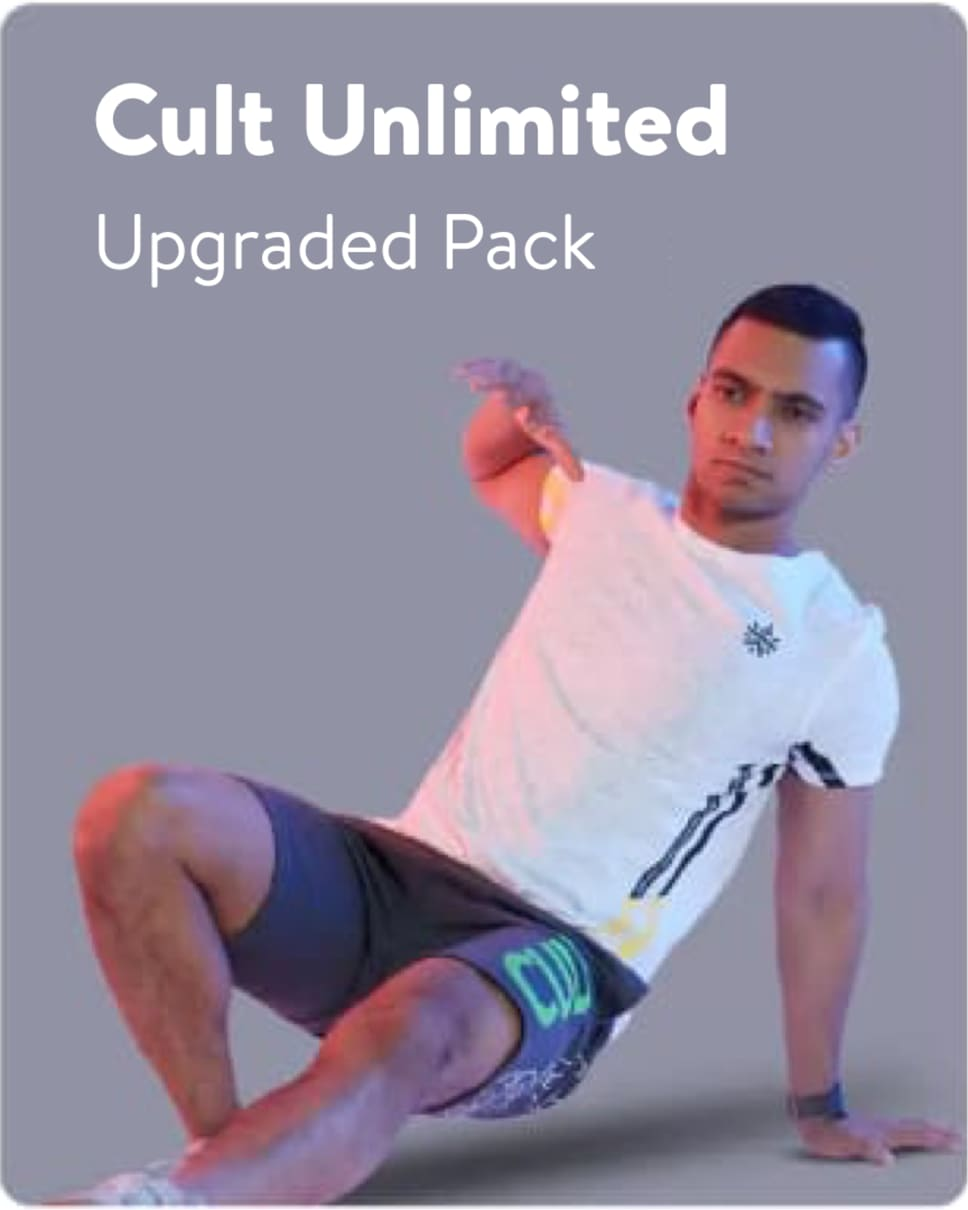 cult.fit Gym WorkOut Upgraded Pack Pack