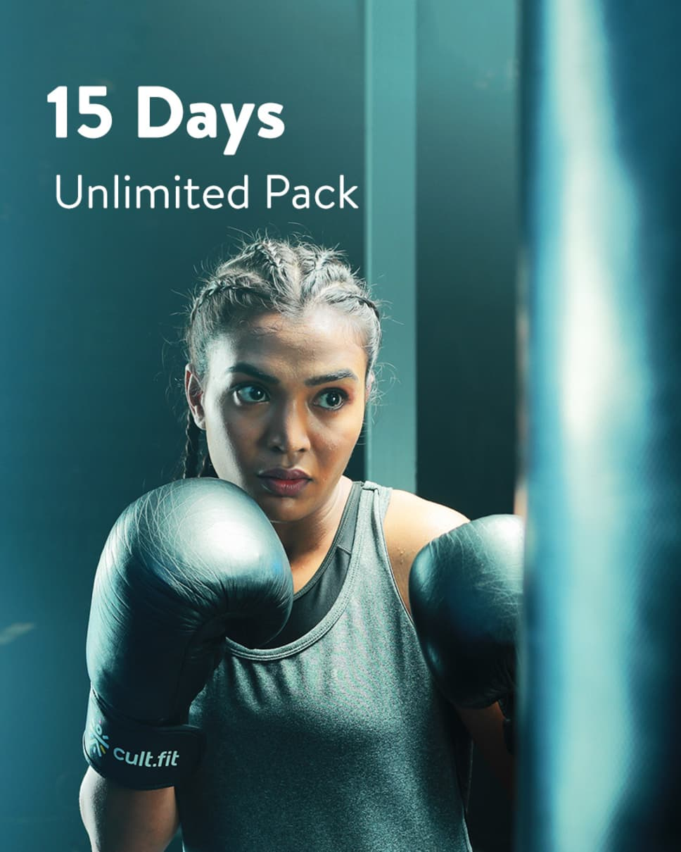 cult.fit Gym WorkOut 15 Days Unlimited  Pack