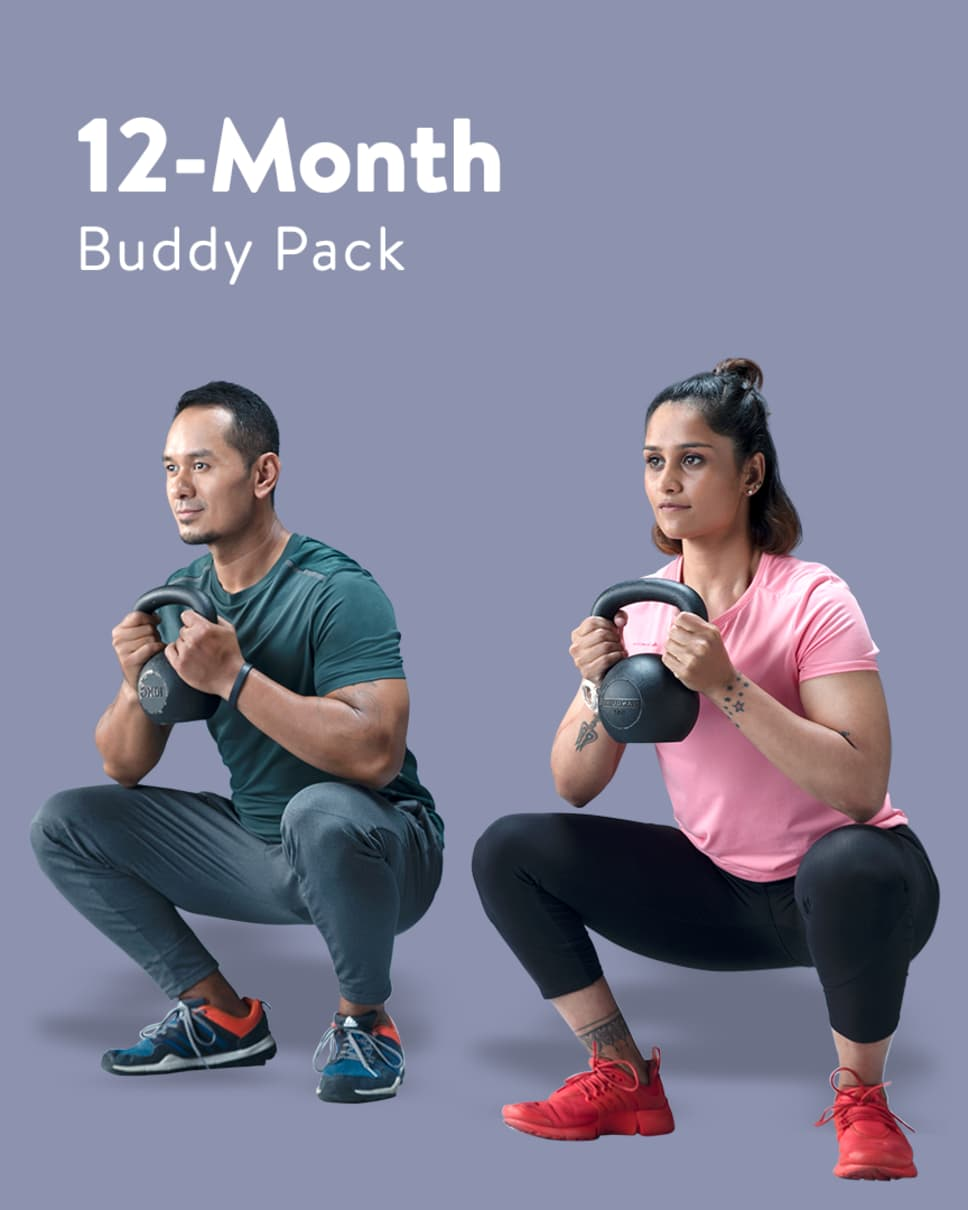 cult.fit Gym WorkOut 12 Month Buddy Pack Pack