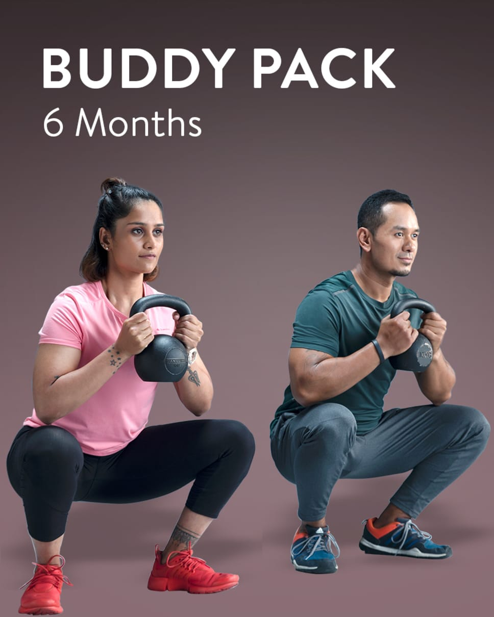 cult.fit Gym WorkOut 6 Month Buddy Pack Pack
