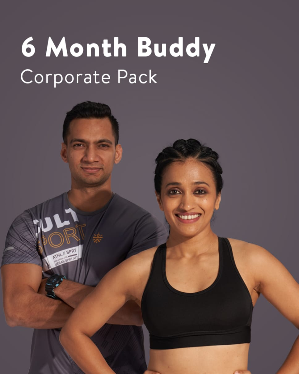 cult.fit Gym WorkOut 6 Month Buddy Corporate Pack Pack