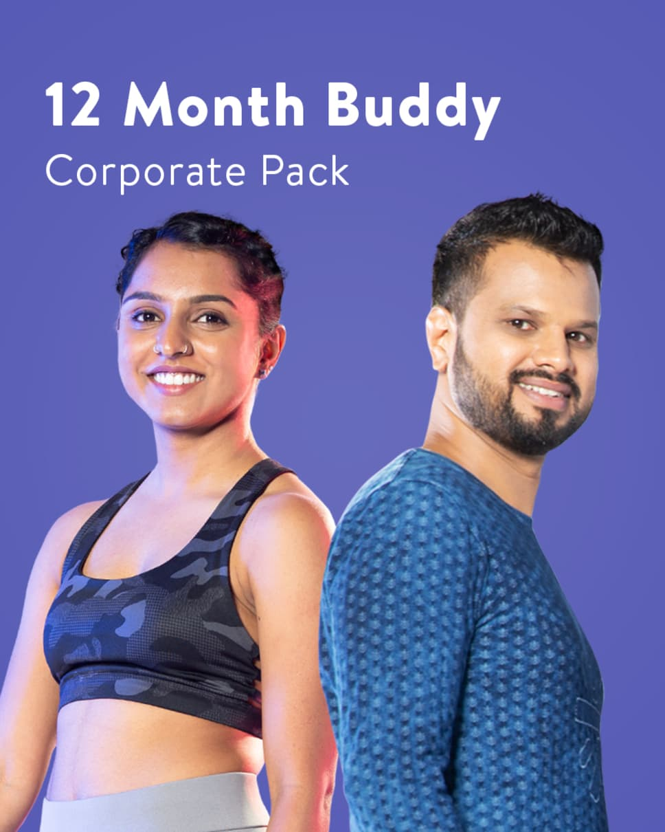 cult.fit Gym WorkOut 12 Month Buddy Corporate Pack Pack