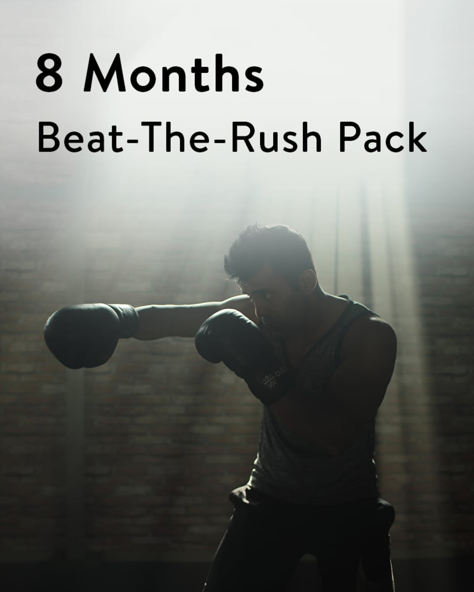 cult.fit Gym WorkOut 8 Months Beat-the-Rush Pack