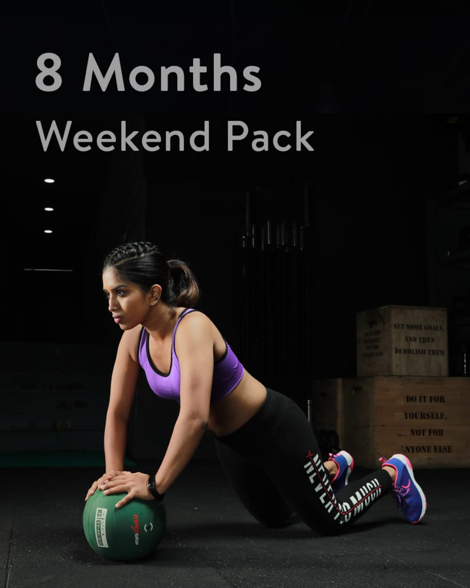 cult.fit Gym WorkOut 8 Month Weekend Unlimited Pack