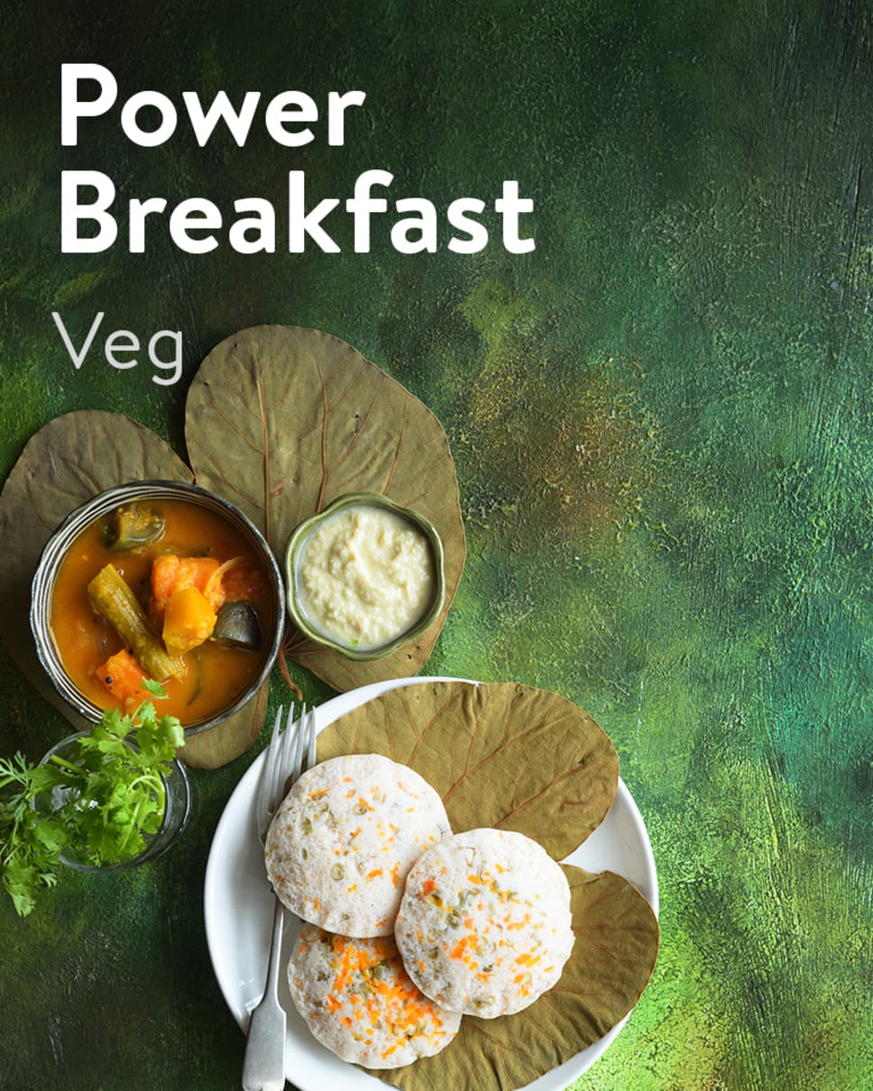 Power Breakfast Veg Homely Meals Subscription at Eat.fit