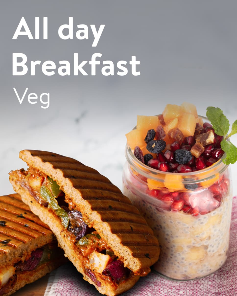 All day Breakfast Veg Homely Meals Subscription at Eat.fit