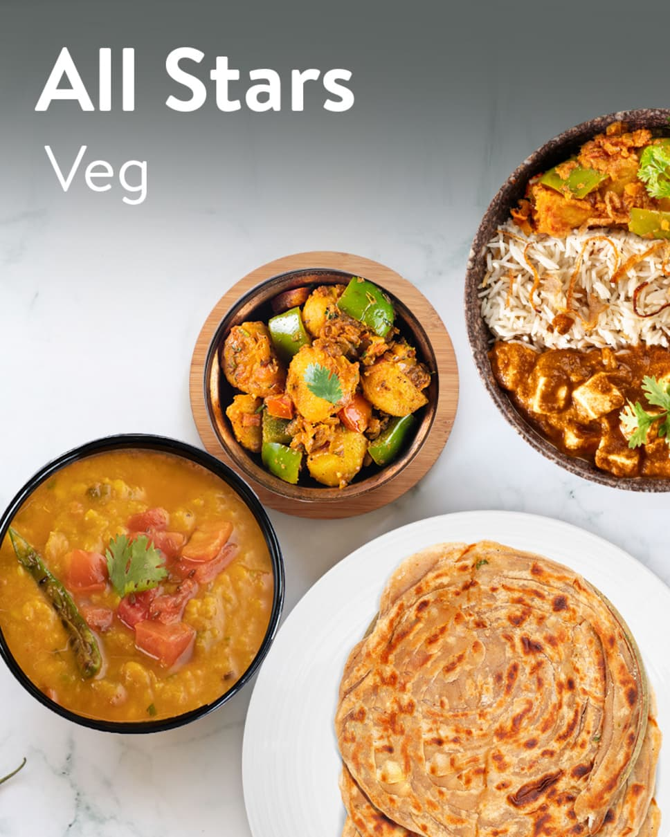 All Stars Veg Homely Meals Subscription at Eat.fit