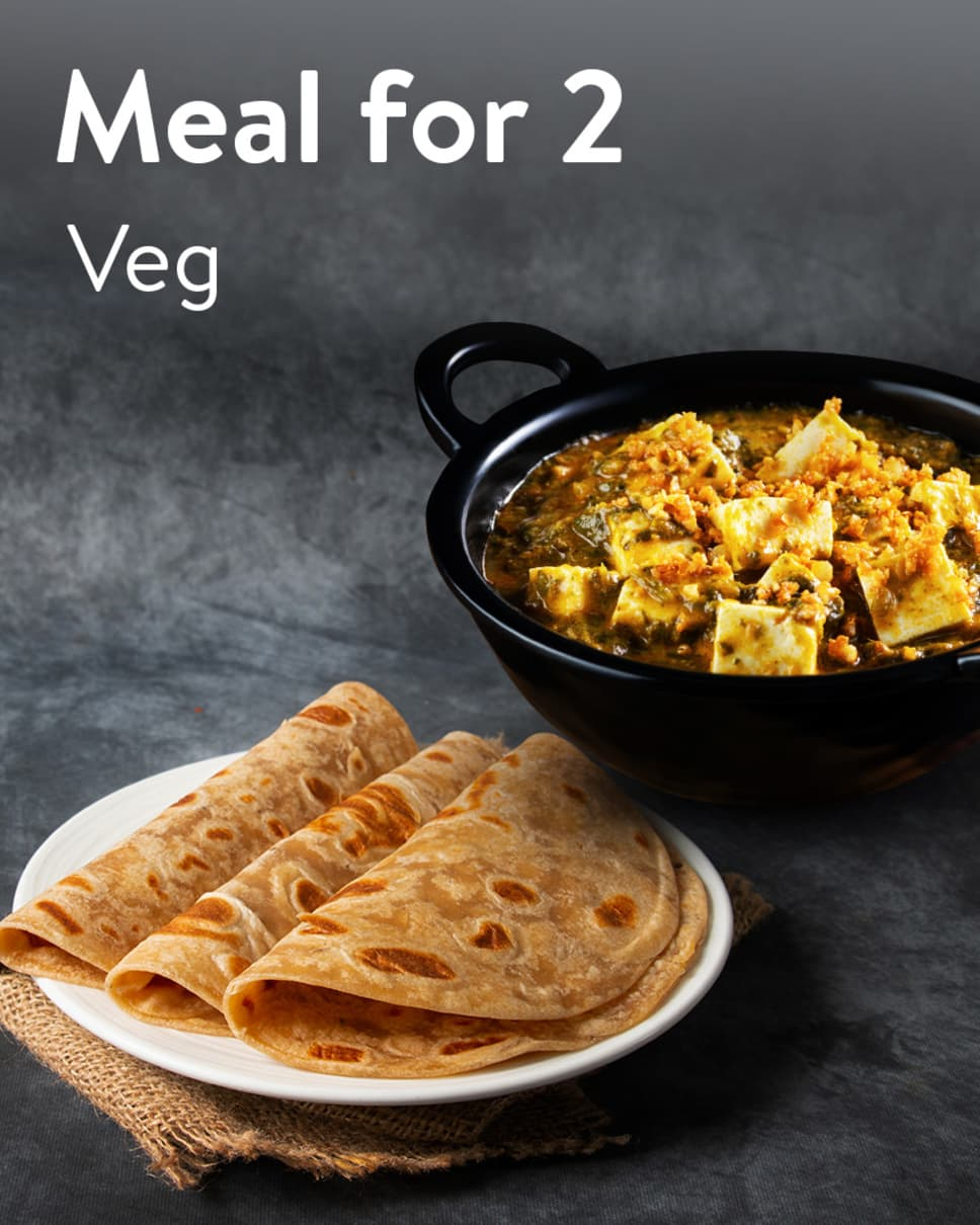 Meal for 2 Veg Homely Meals Subscription at Eat.fit