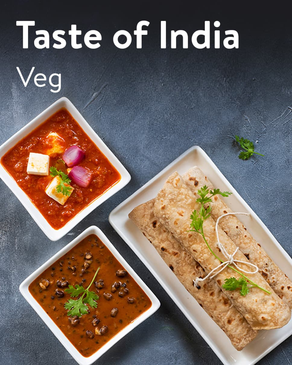 Taste of India Veg Homely Meals Subscription at Eat.fit