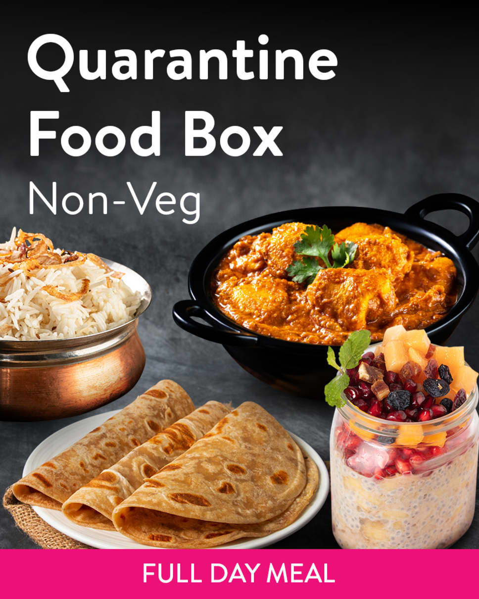 Quarantine Food Box Non-Veg Homely Meals Subscription at Eat.fit