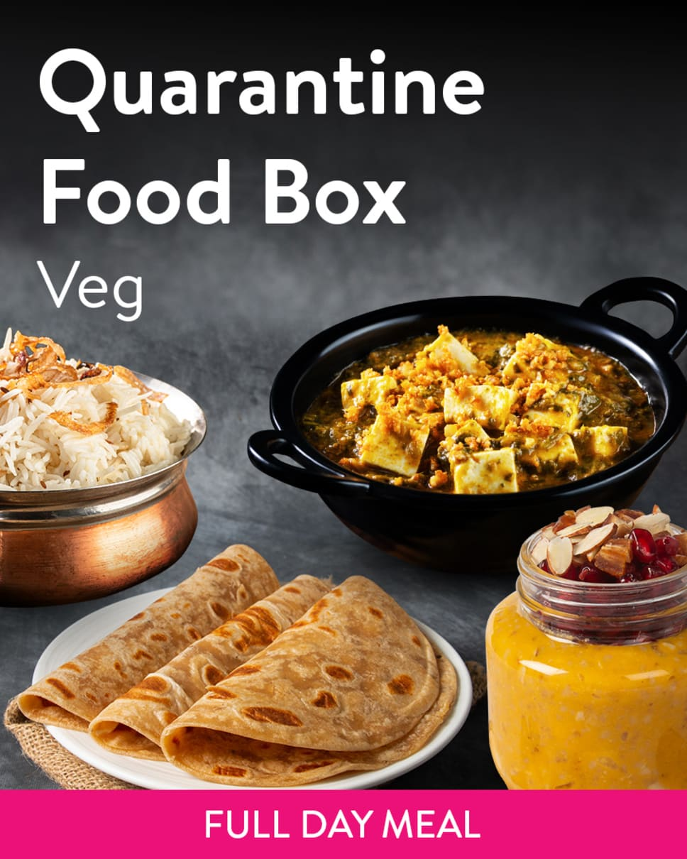 Quarantine Food Box Veg Homely Meals Subscription at Eat.fit