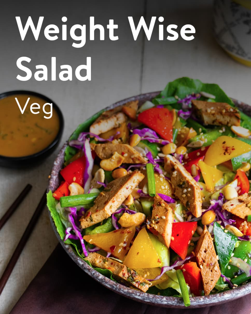Weight Wise Salad Veg Homely Meals Subscription at Eat.fit
