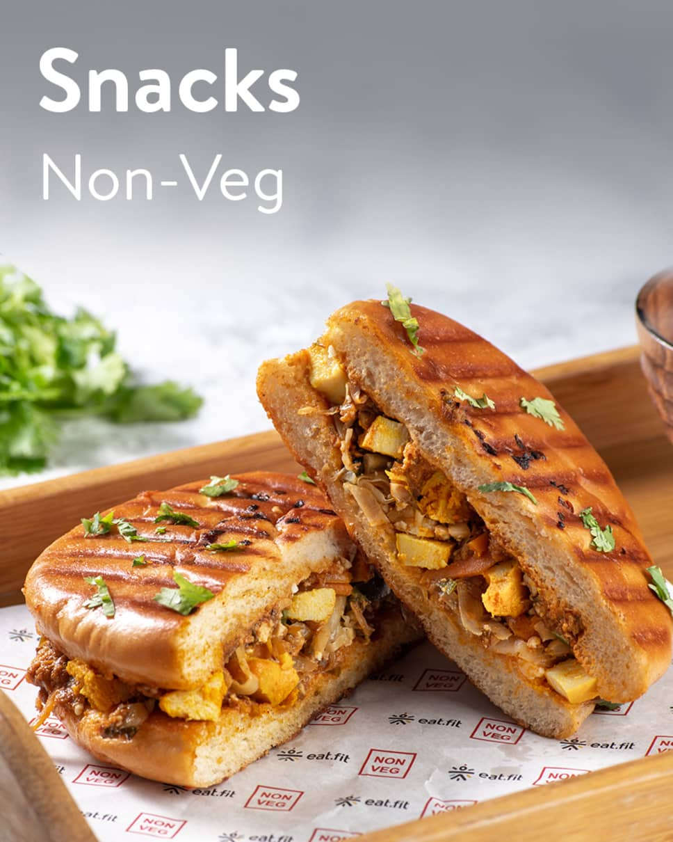 Snacks Non-Veg & Veg Homely Meals Subscription at Eat.fit