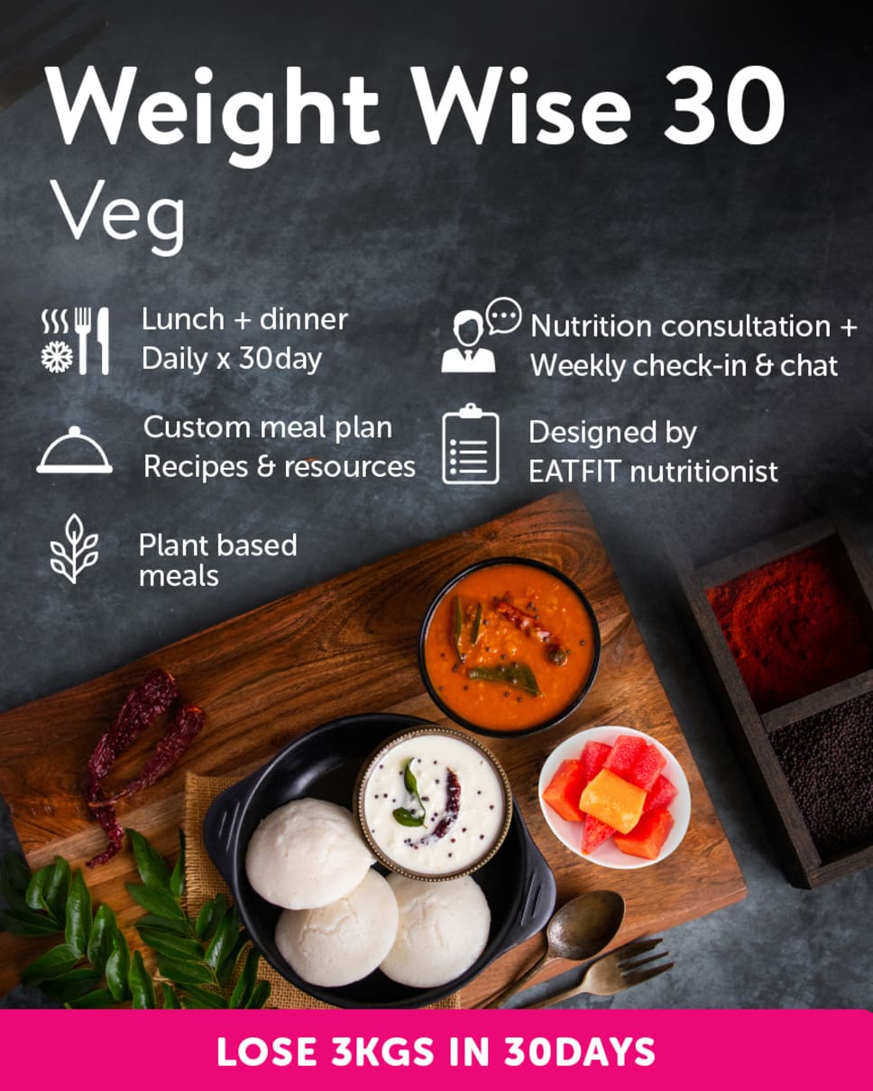 Weight Wise 30 Homely Meals Subscription at Eat.fit